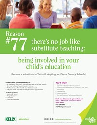 Substitute Teaching positions available