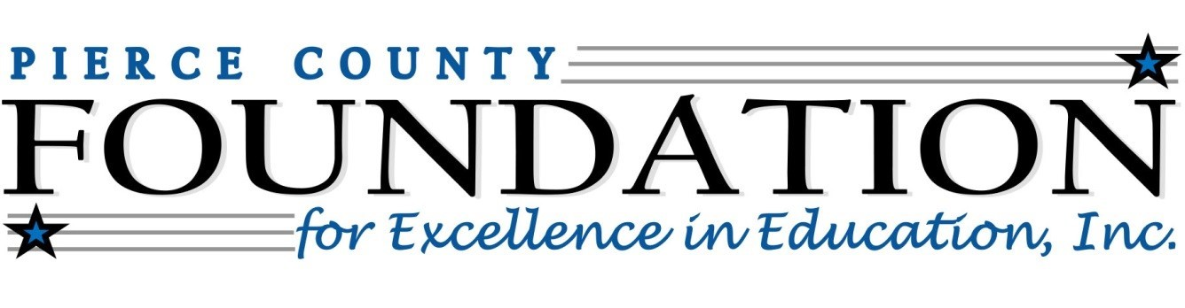image that states Pierce County Foundation for Excellence in Education