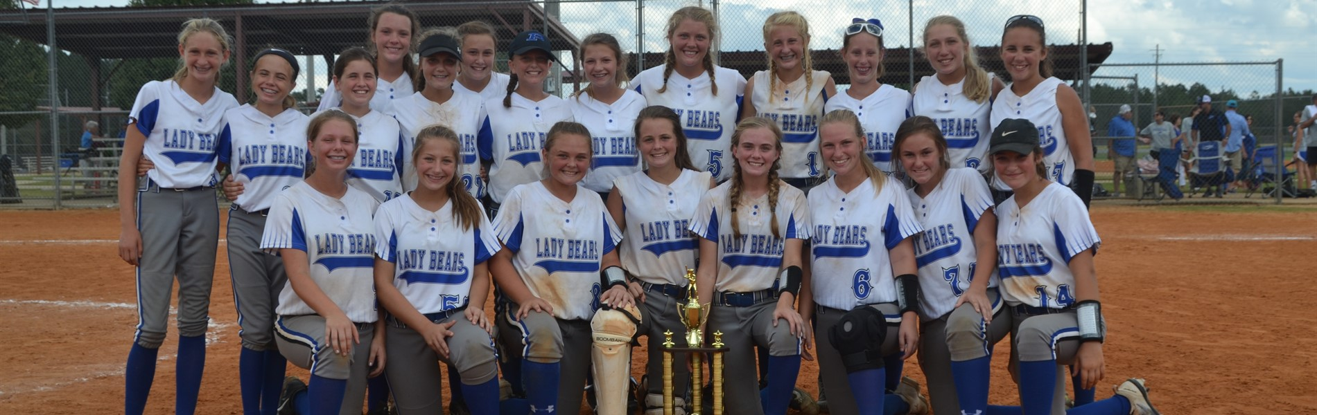 2018-2019 Softball Conference CHAMPS!