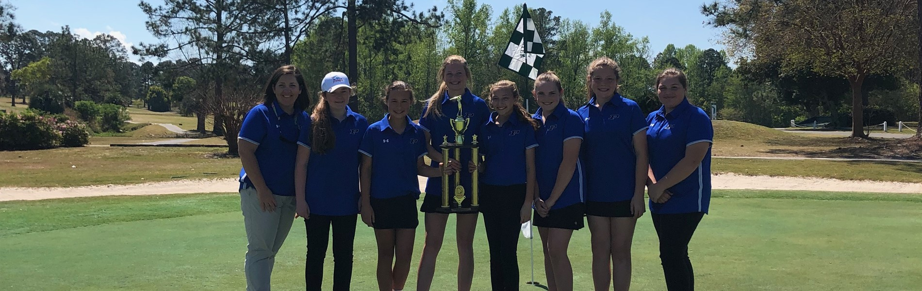 2018-2019 Girls Golf Conference CHAMPS